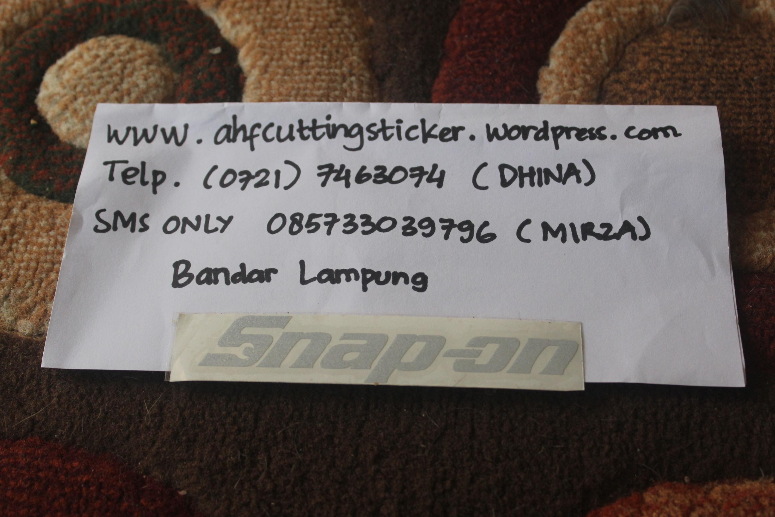 Otomotif Mail: Ahfcuttingsticker
